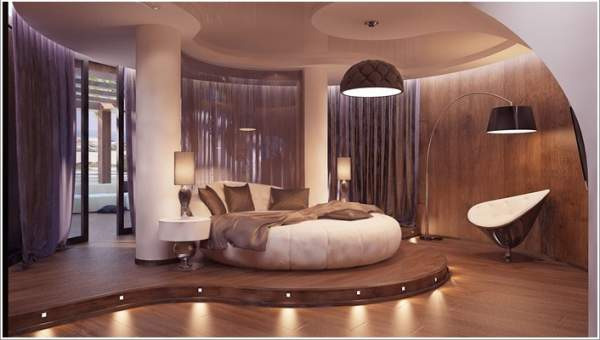 . 10 luxury bedroom interior options will create all the conditions