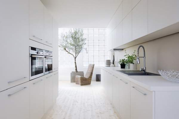Elegant And Luxurious Kitchen Interior In White The Best Works Of