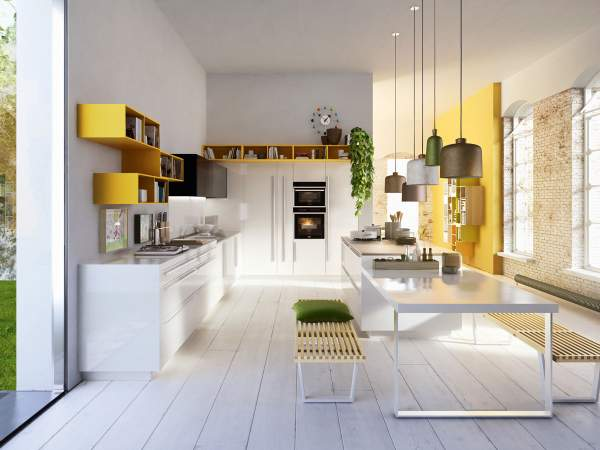 Fashionable aesthetic and practical kitchens - new design ...