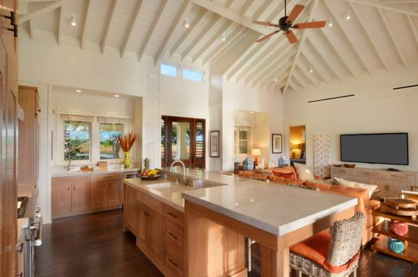 12 required elements for the kitchen interior in the tropical style