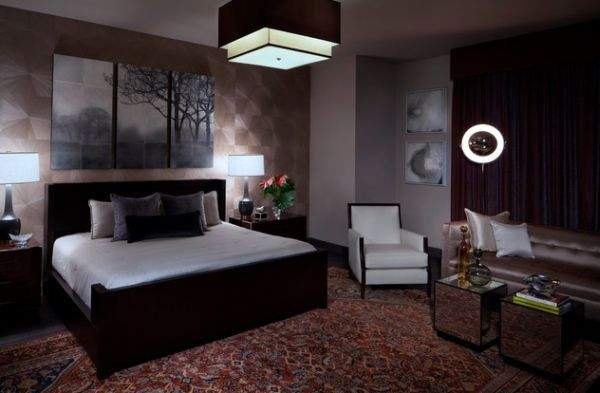 60 great ideas for stylish and fashionable design of a bachelor bedroom - interiors for real men