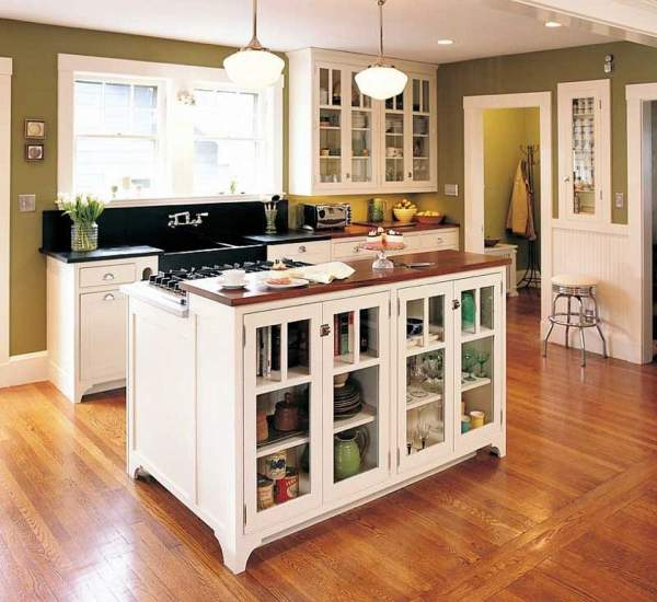 Additional storage and work surfaces - six advantages of kitchen islands