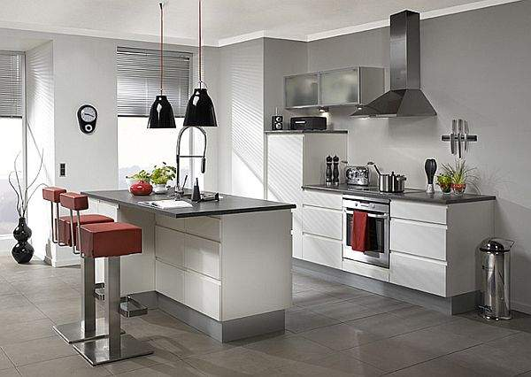 An impressive selection of iconic kitchen interiors - a short guide to fashion trends