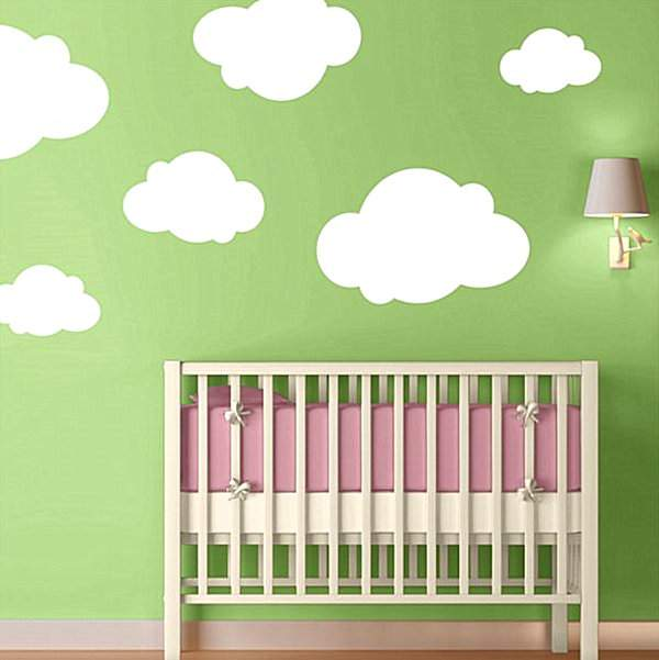 Baby stickers on the walls: interesting stories for boys and girls, as well as their parents