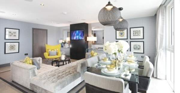Chic and comfort: penthouse interior design