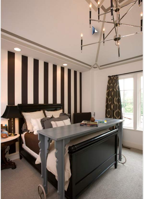Design bedroom 10 sq. M - great opportunities in a small space