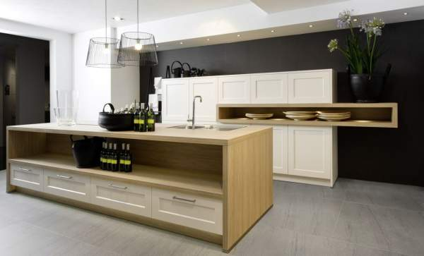 Direct (linear) kitchens: laconic design and comfort in use