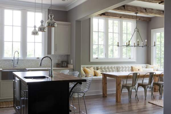 Dizzying ideas for introducing attractive farmer-style elements into the kitchen