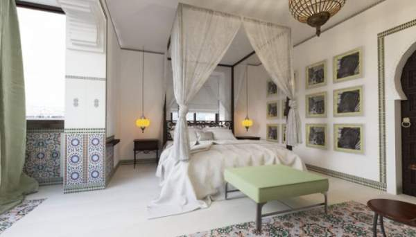East bedroom - photo of the best ideas of Arabic design