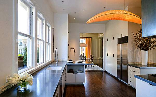 Effective solutions for the lighting design of the kitchen interior - creative lighting