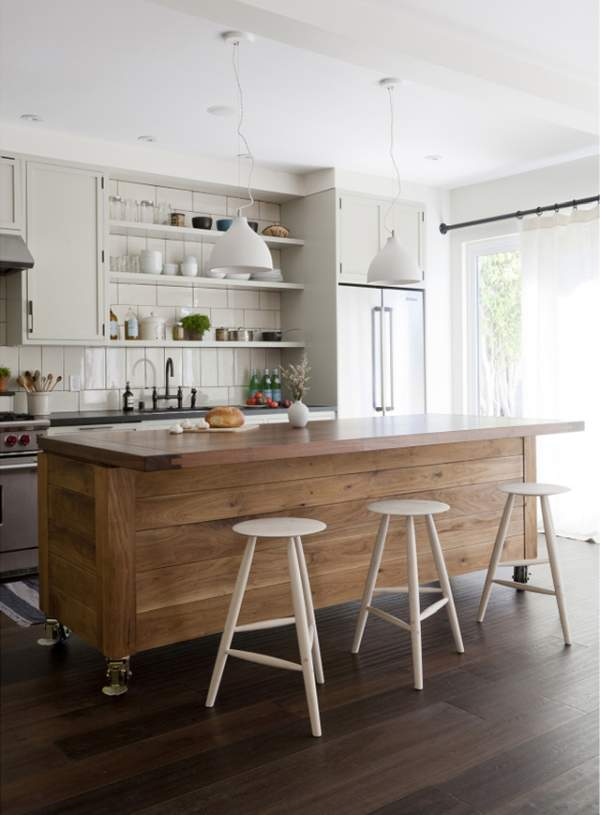 Elegant and practical design of kitchen furniture