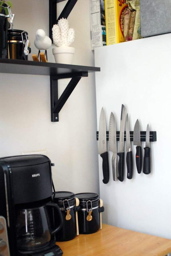 Great ideas for storage in a small kitchen