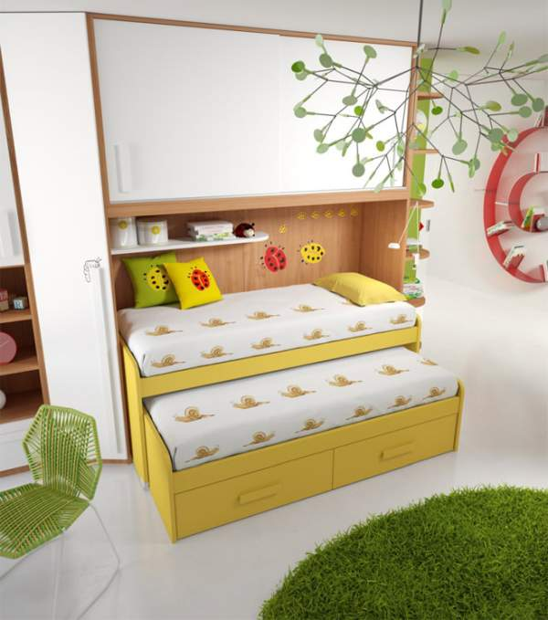 How to correctly design the interior of a children's room for two children - practical tips for designers