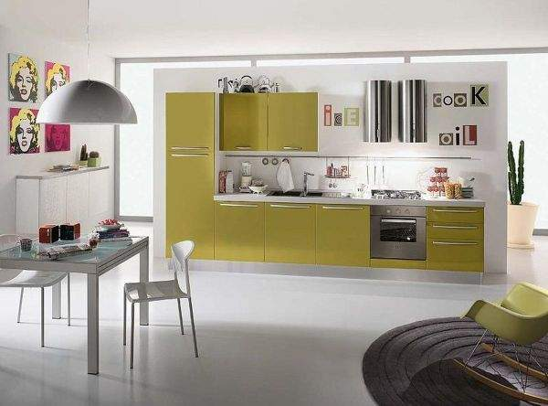 How to create a cosiness in a modern kitchen - photos of successful design solutions