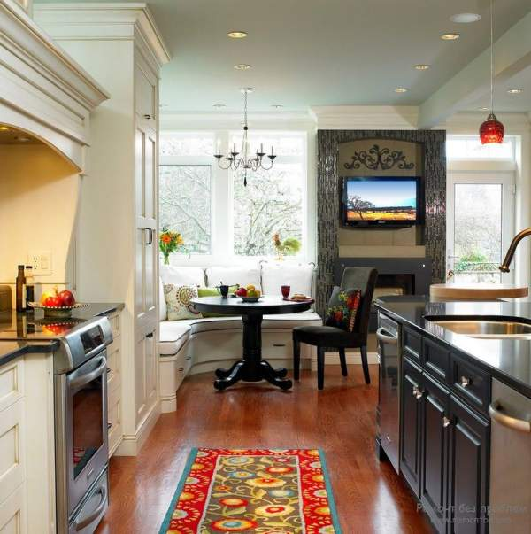 Ideas for design and arrangement of kitchens