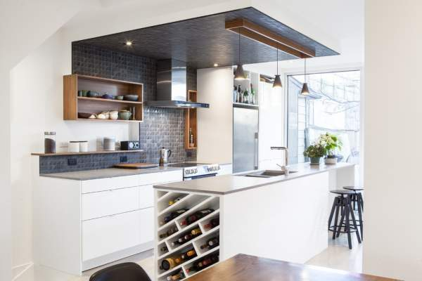 Interesting design options for the kitchen