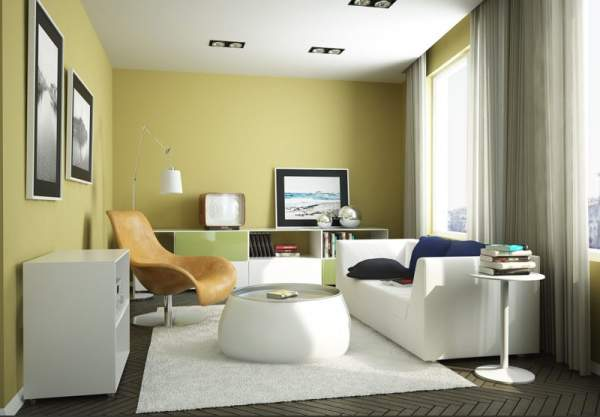 Interior of a large living room - 130 photo of the main ideas for planning and design