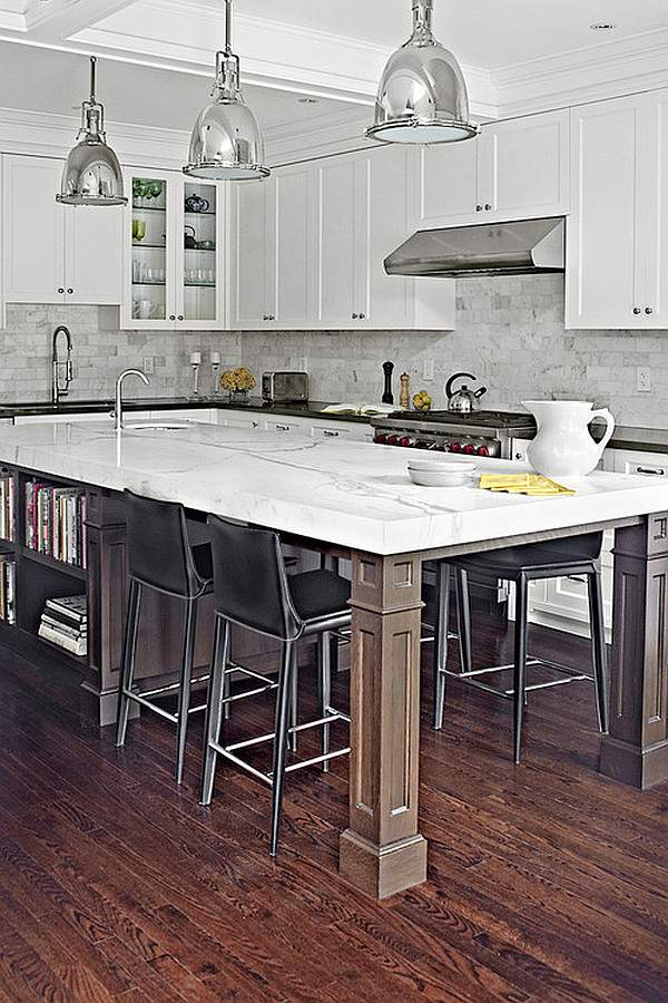 Island in the interior of the kitchen: creative design ideas for every need