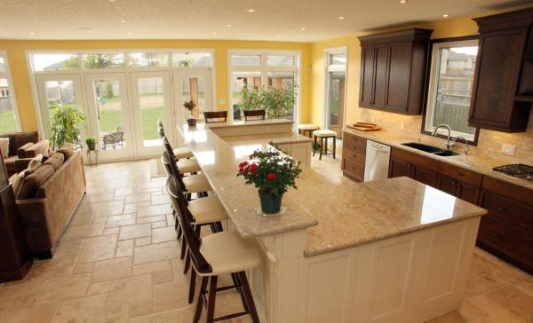 Kitchen island design: ideas of a stylish layout with photos of interiors