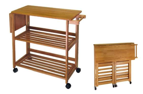 Kitchen island in a small kitchen: a selection of compact models