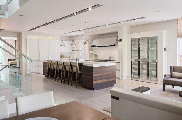Kitchens with glass facades: interesting ideas for interior design