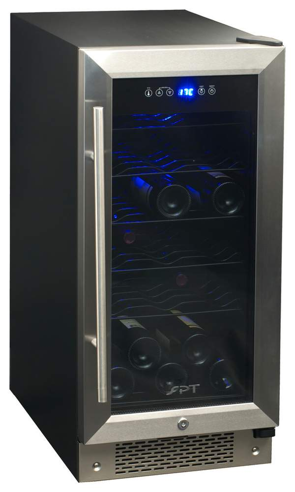 Luxury in the kitchen - a designer refrigerator for wine will preserve the unique properties of drinks for a long time