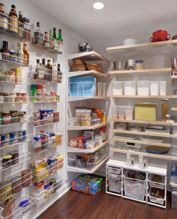 Minor case: the ways and methods of convenient and safe storage of food and small kitchen utensils