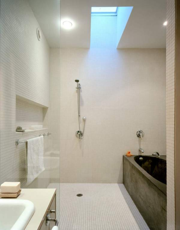 Niches in the bathroom: 12 examples of an ideal interior