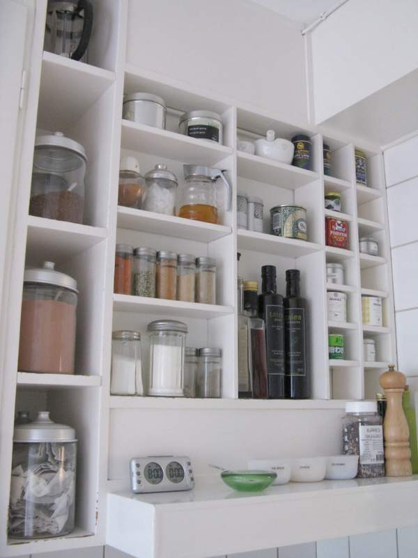 Organization of a working space in a modern kitchen - a photo of design ideas