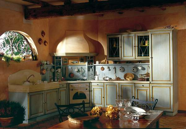 Return to the origins or how to create a rustic kitchen interior