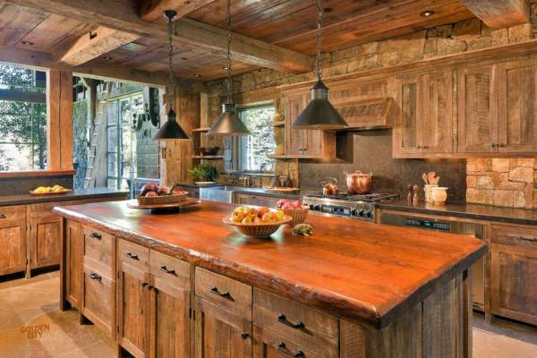 Rustic Kitchen: Top 10 ideas for creating a cozy interior