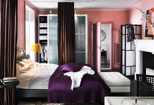 Small design secrets for the arrangement of a magnificent bedroom - we place accents