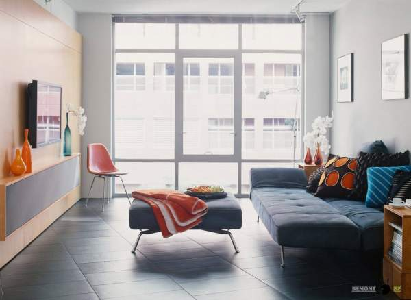 Small living room - design of a room with great possibilities