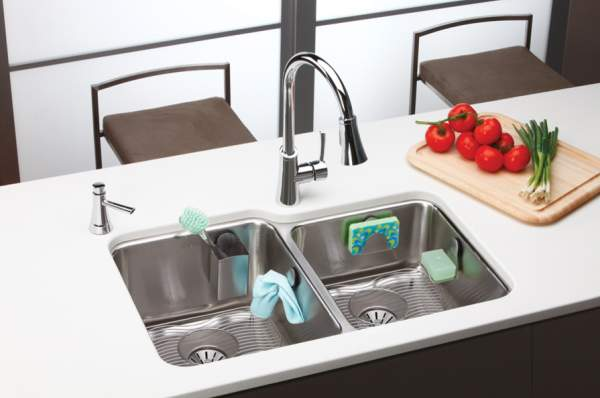 Smart additions for the kitchen sink are small helpers that optimize and simplify the everyday tasks of the housewives