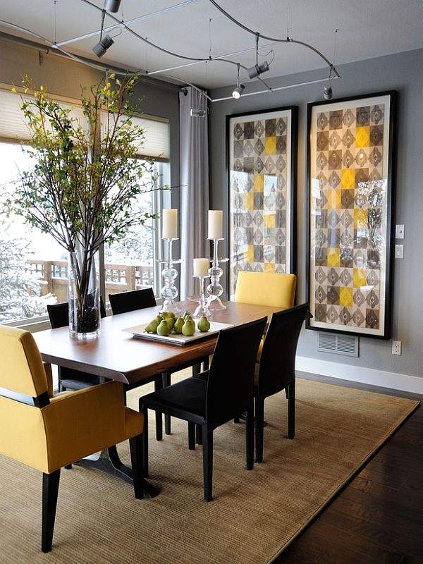 Stylish kitchen interior: the right choice of dining furniture