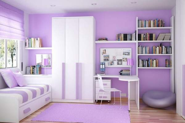 The combination of colors in the interior of the children's room - says the famous designer