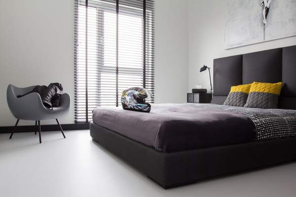 The interior of the male bedroom as the embodiment of a lifestyle