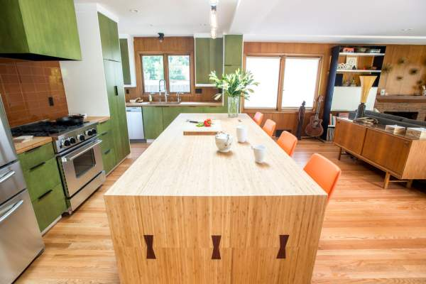 The kitchen of the week: bright design, spaciousness and modern approach to solving all problems