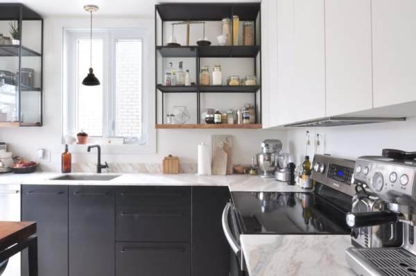 Time dictates: industrial style in the interior of the kitchen