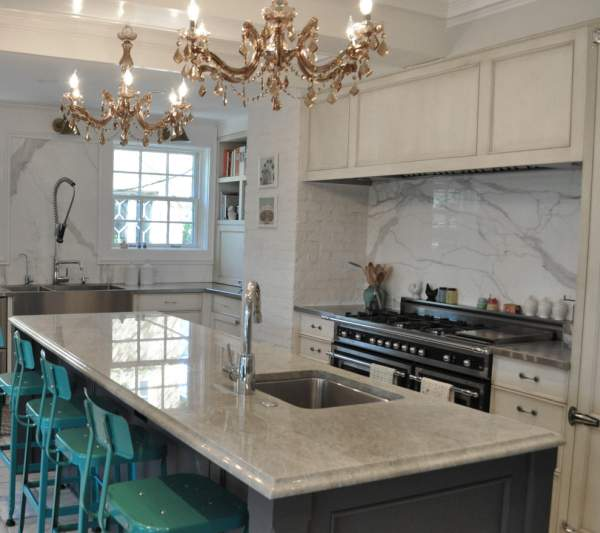 Variants of the design of kitchen countertops