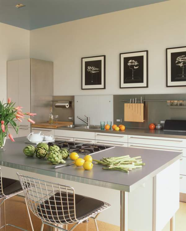 Variety of kitchen countertops: laminated boards allow to realize the most daring design ideas
