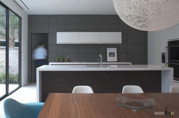 Wall panels: bright design and compromise solutions for the kitchen