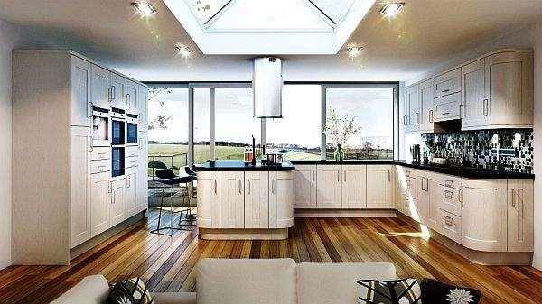White or coffee with milk - how to achieve harmony of color solutions in the interior of the kitchen