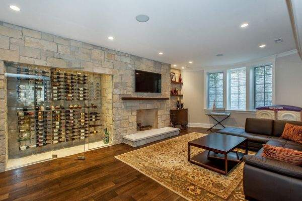 Your home wine cellar - spectacular ideas for a stylish interior