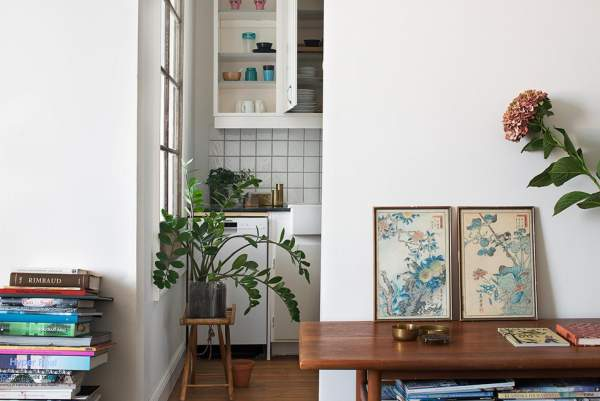 Industrial interior design for a house in 100 square meters