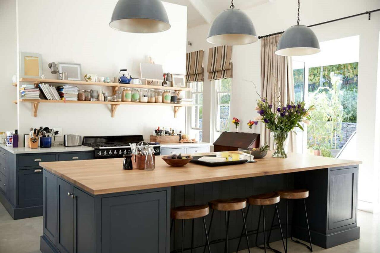 Cool Kitchen Without Upper Cabinet Design Ideas No Upper Beutiful Home Inspiration Ommitmahrainfo