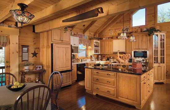 5 ideal solutions to harmoniously combine in the interior of the kitchen modern and rural styles