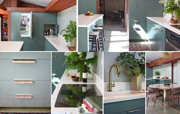 Transformation Of The Kitchen Interior In The Art Nouveau Style A
